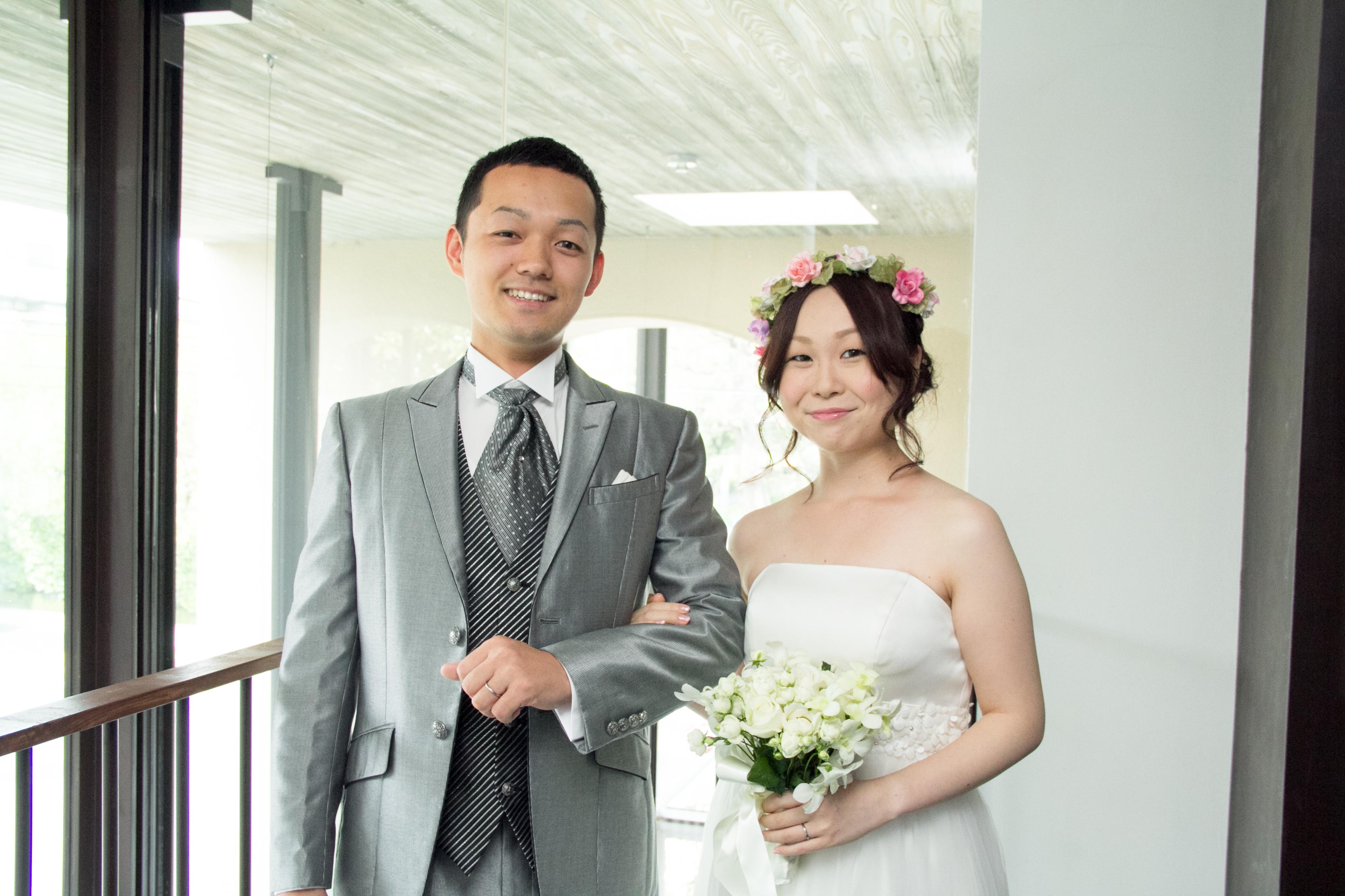 結婚式1.5次会写真撮影