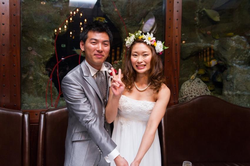結婚式2次会写真撮影