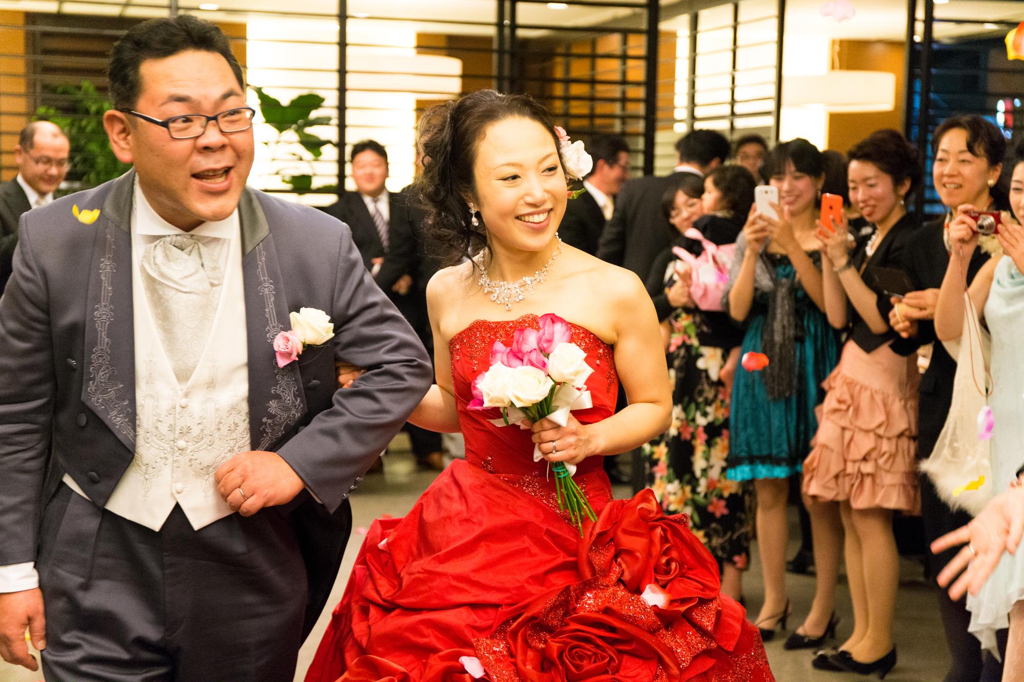 結婚式2次会 写真撮影